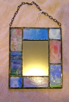 Piece of Stained Glass - Mirrors
